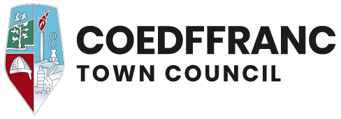 Coedffranc Town Council logo