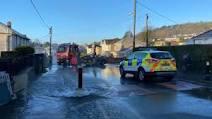 Police Car Flood