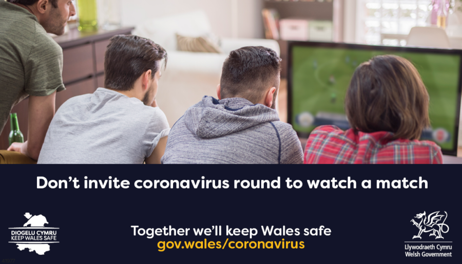 Keep Wales Safe - Don't invite Covid19